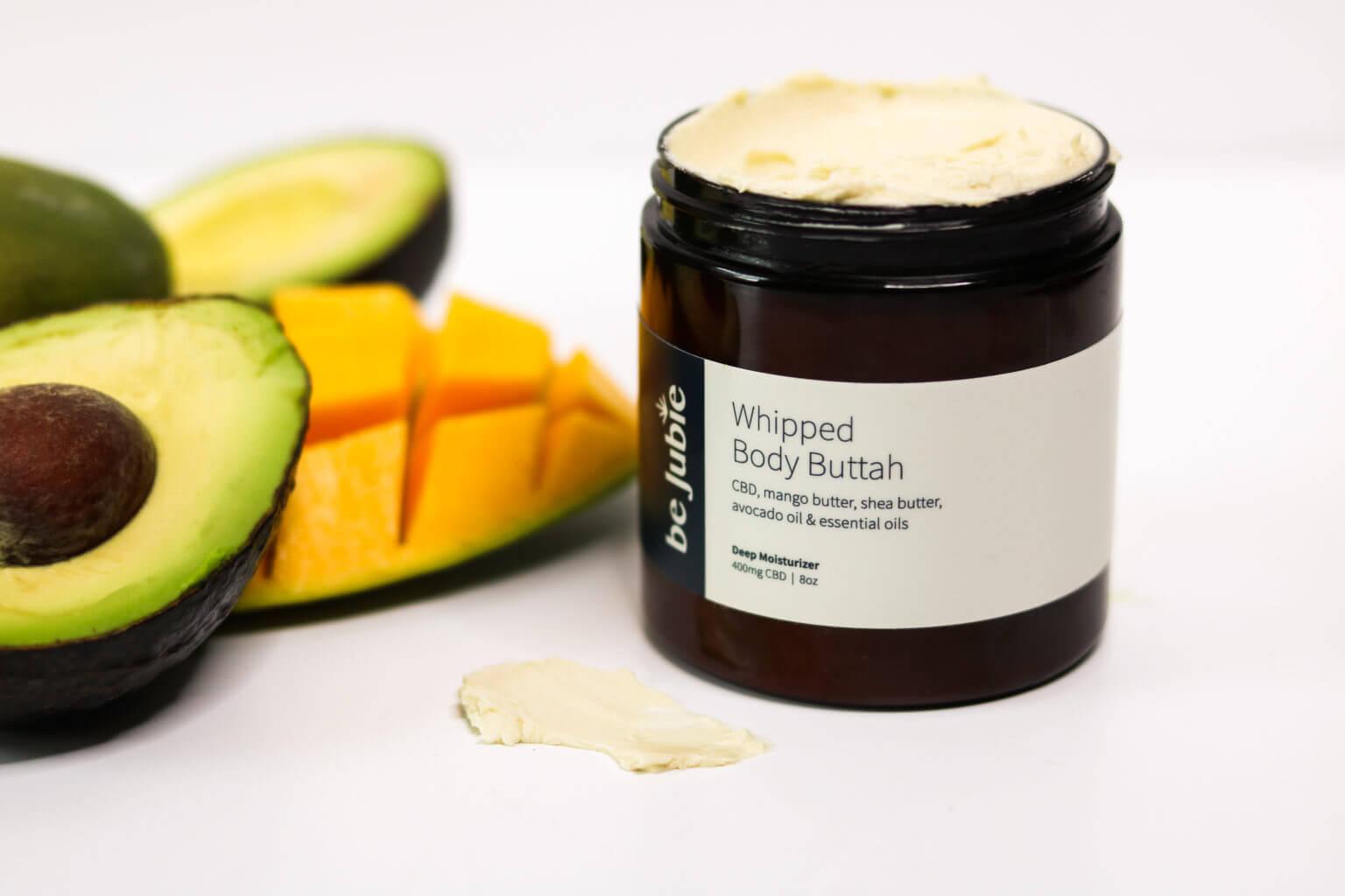 Scented Cbd Body Butter - Avocado And Mango