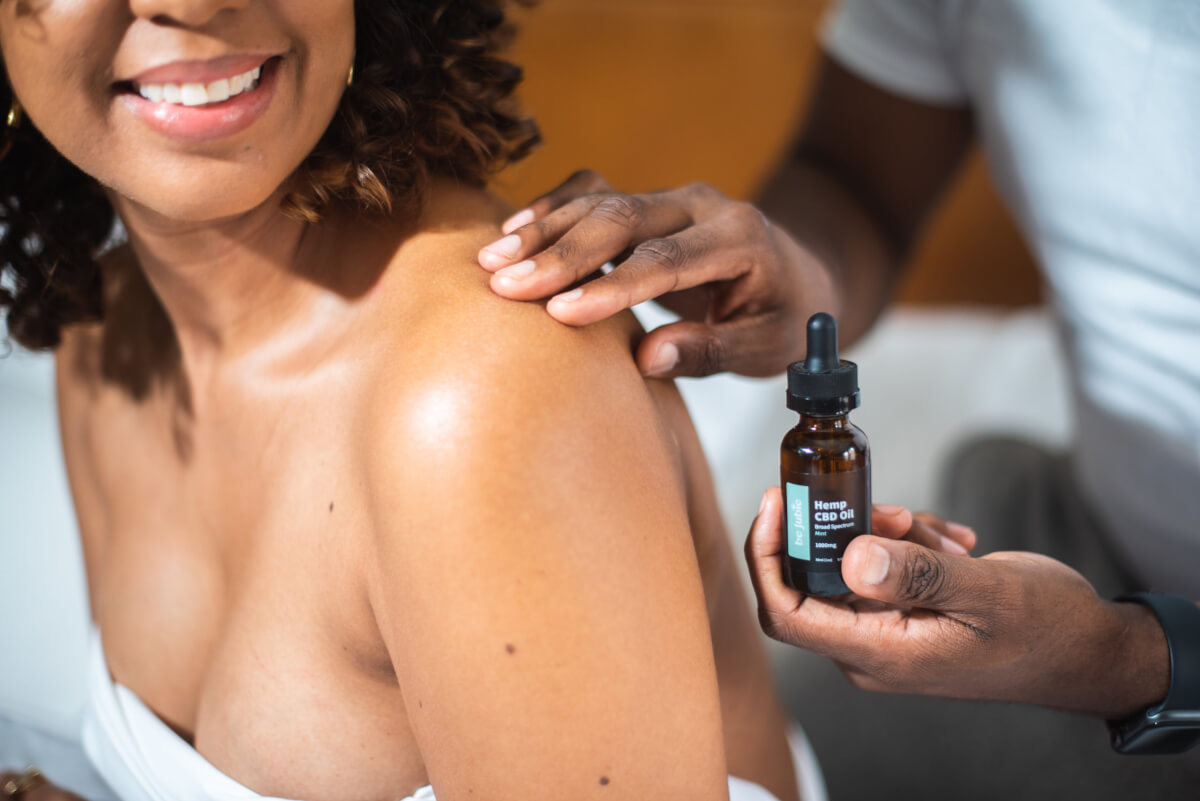 High Dose CBD Oil - Massage CBD Oil